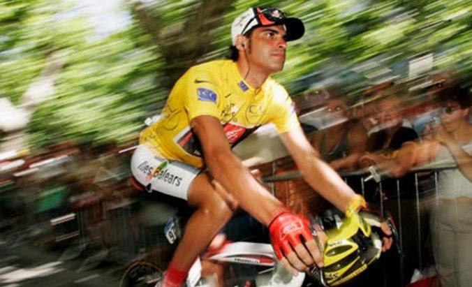 Oscar Pereiro en el Tour de Francia