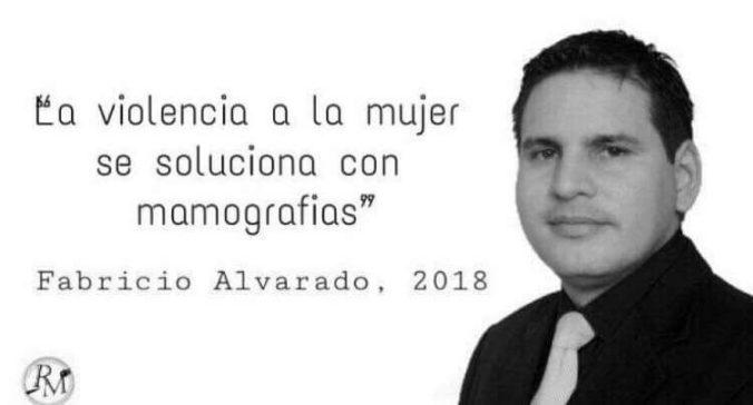 Meme tergiversado de Fabricio Alvarado